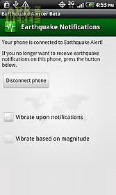 earthquake alerter free