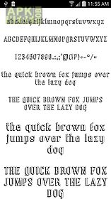 Fonts for flipfont 50 #8 for Android free download at Apk Here store