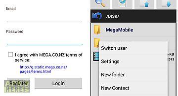 Mega mobile streaming