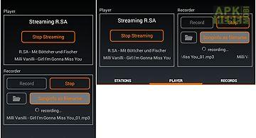 Mr recorder - radio streaming