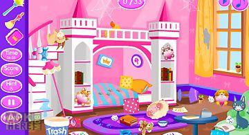 Princess room cleanup
