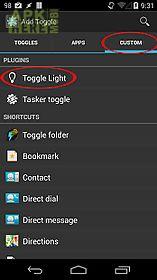 tf: toggle light