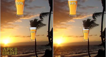 Beer in glass hd battery