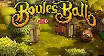 Boules ball