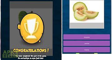Fruits quiz part 1
