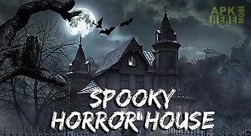 Spooky horror house