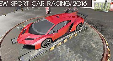 Sport car racing 2016