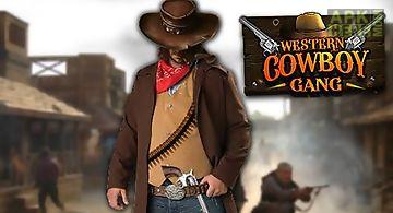 Western: cowboy gang. bounty hun..