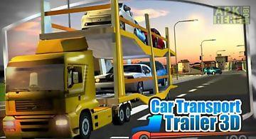 3d car transport trailerpack