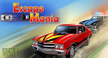 Car race: police chase. escape m..