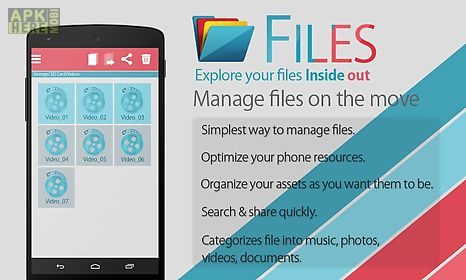 files - file explorer and manager