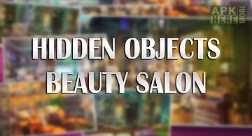 Hidden objects: beauty salon