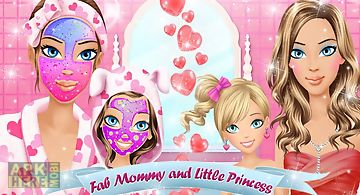 Mommy and me makeover salon