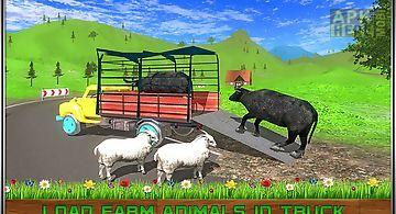 Offroad transport farm animals