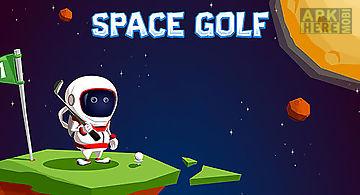 Space golf galaxy