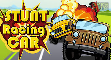 Stunt racing car