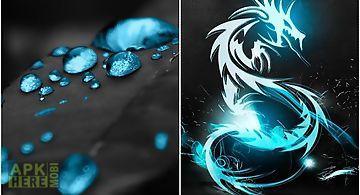 Dark blue Live Wallpaper