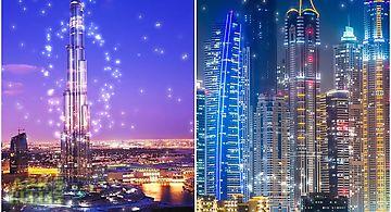 Dubai night  pro Live Wallpaper