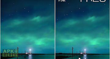 Dynamic aurora Live Wallpaper