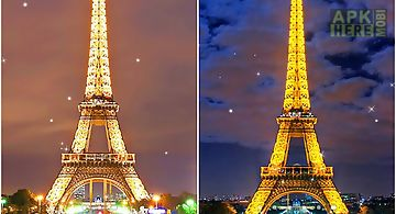 Night in paris Live Wallpaper