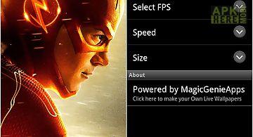 The Flash Movie Live Wallpaper