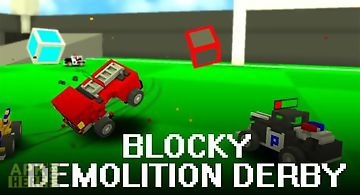 Blocky demolition derby
