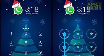 Christmas theme - lock privacy