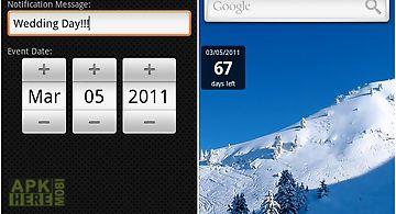 Countdown notifier