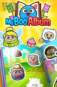 my boo album - sticker book