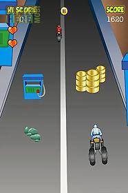 bike hurdling race gold