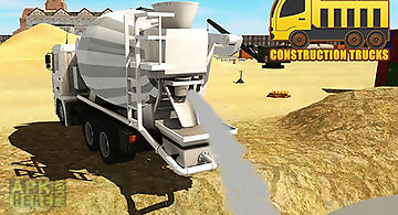 City builder: construction truck..