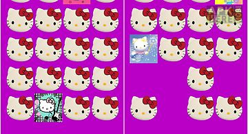 Hello kitty memory game free