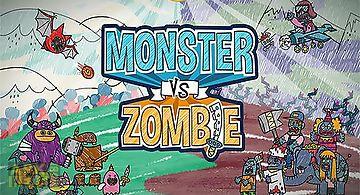Monster vs zombie