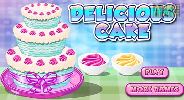 Delicious cake games