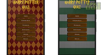 Fanquiz for harry potter