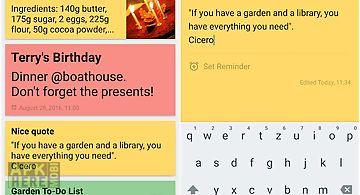 Memorix notes + checklists