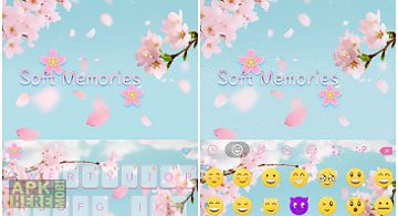 Soft memories keyboard theme