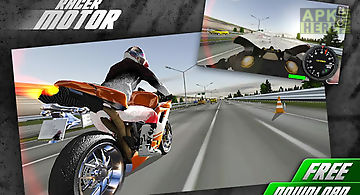 Traffic racer motor