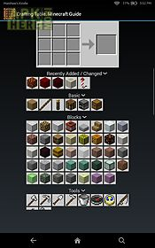 crafting table minecraft guide