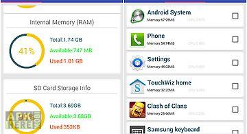 Memory dashboard