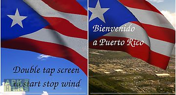 3d puerto rico flag lwp Live Wal..