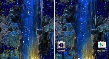Magic blue fall lwp Live Wallpap..