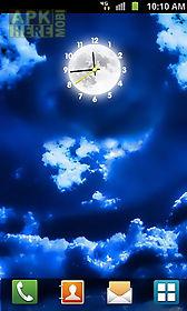 moon clock live wallpaper