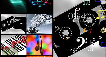 Music Notes Z Live Wallpaper
