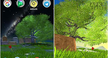 Nature tree Live Wallpaper