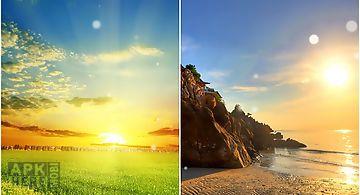 Perfect sunrise Live Wallpaper