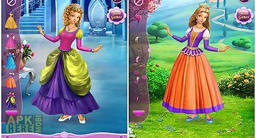 Dress up princess cinderella
