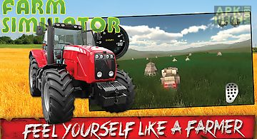 Farm tractor 3d simulator