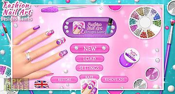 Fashion nail art designs game