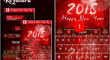 Happy new year keyboard theme